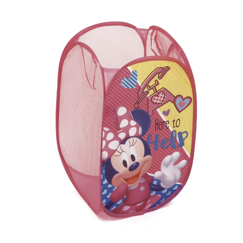 Detský skladací kôš na hračky Minnie