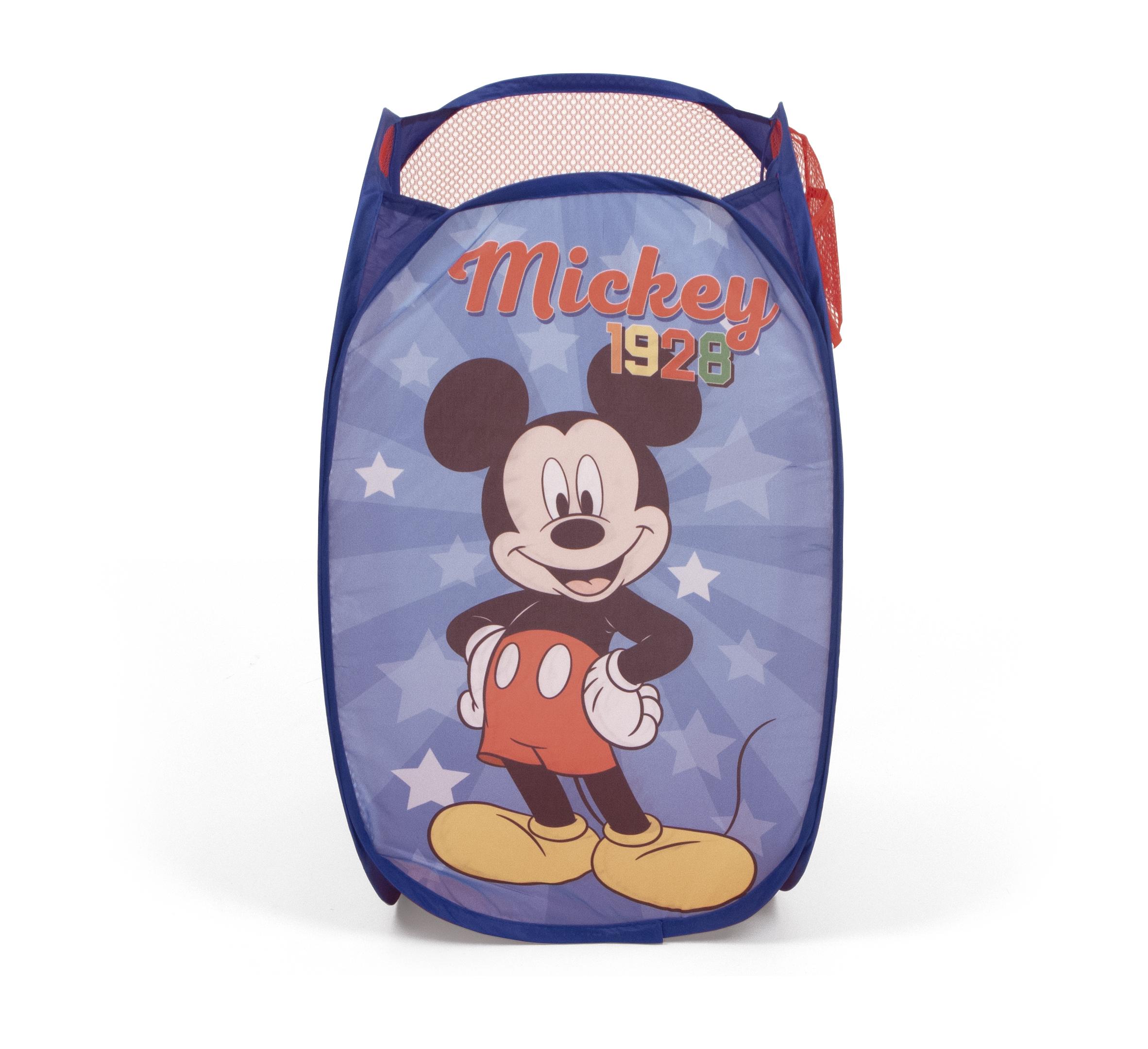 Detský skladací kôš na hračky Mickey