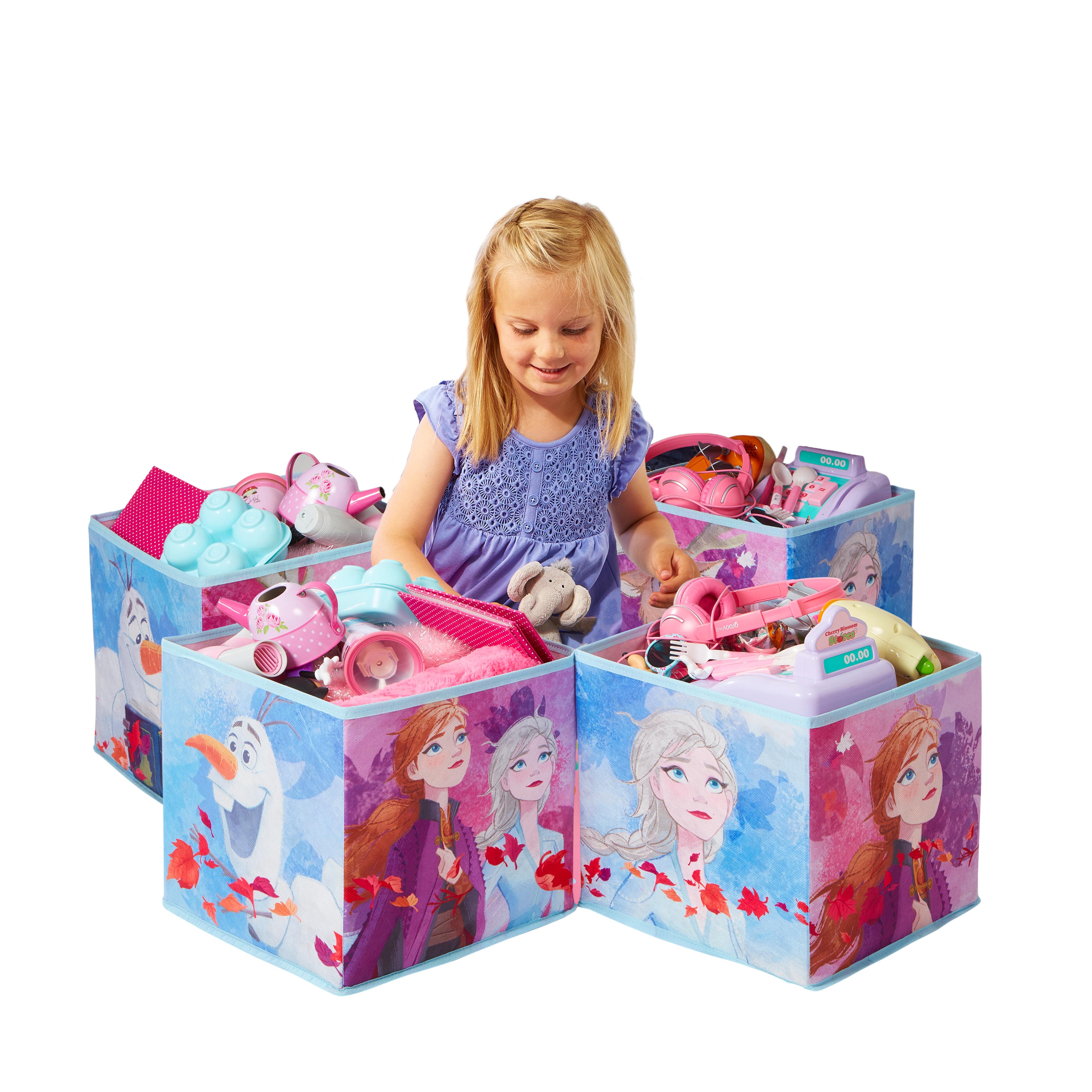 Detské úložné boxy Frozen