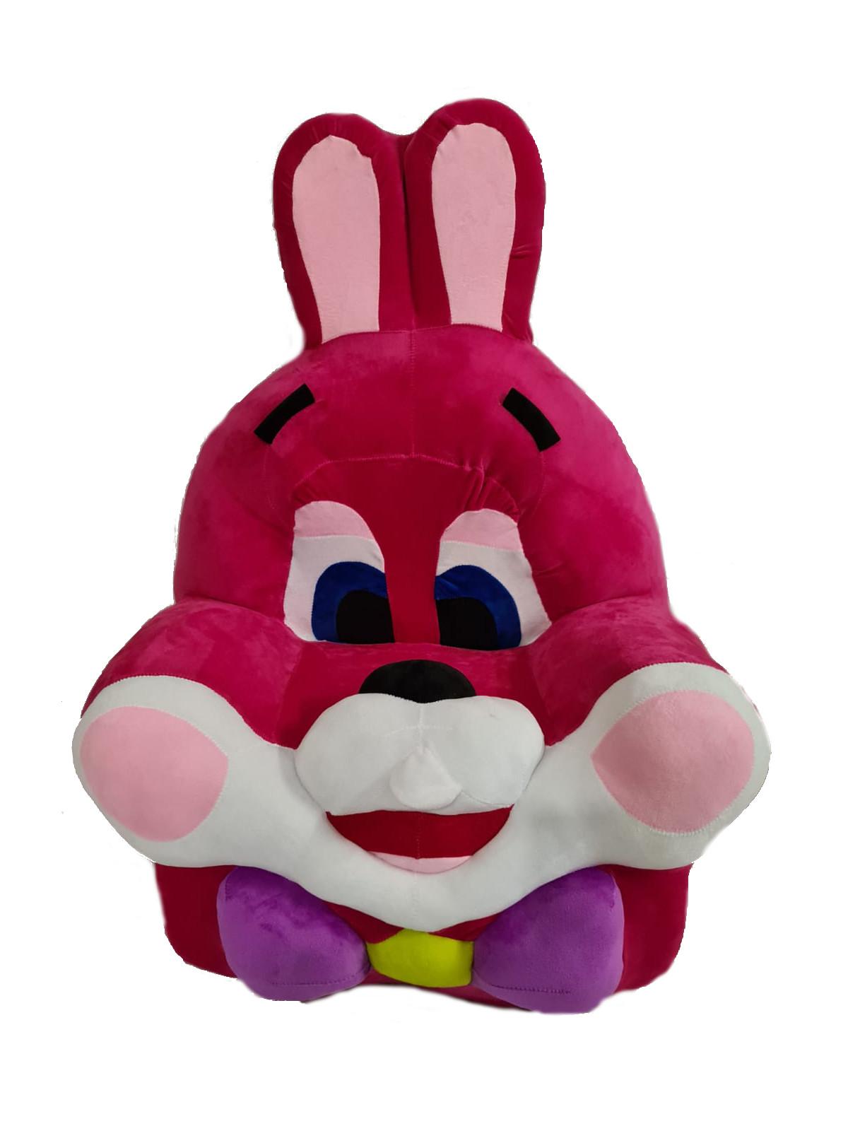 Detské kresielko ružový Zajac