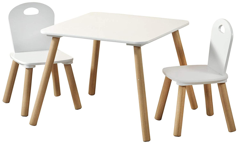 Detský stôl s stoličkami Scandi