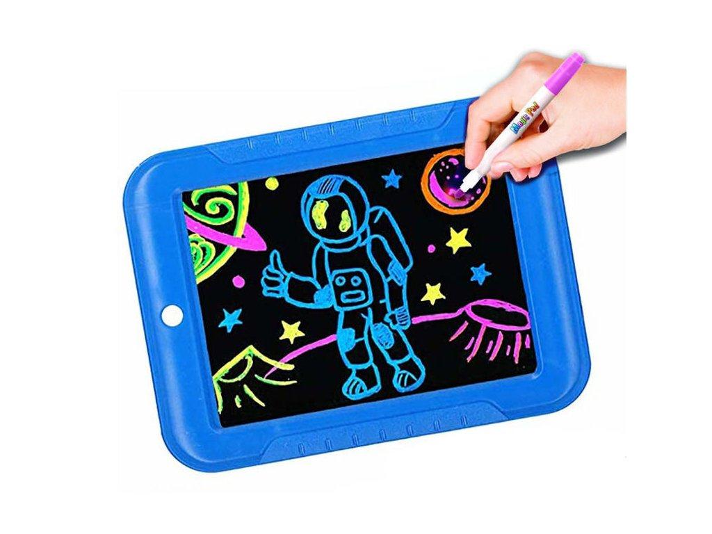 Magická kresliace tabuľka - modrá