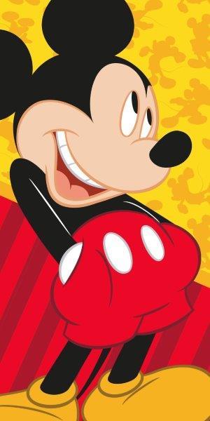 Detská osuška Myšiak Mickey 140x70 cm