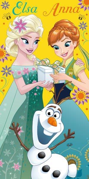 Detská osuška Anna a Elsa 140x70 cm
