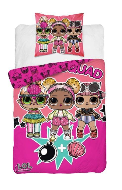 Detské obliečky LOL surprise 140x200 cm