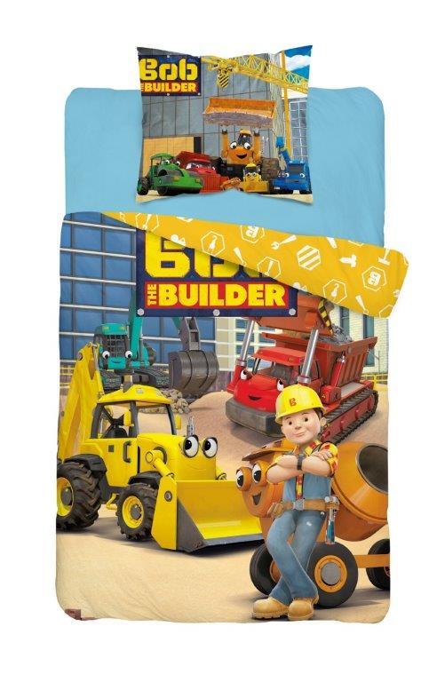 Detské obliečky Bob Builder 140x200 cm