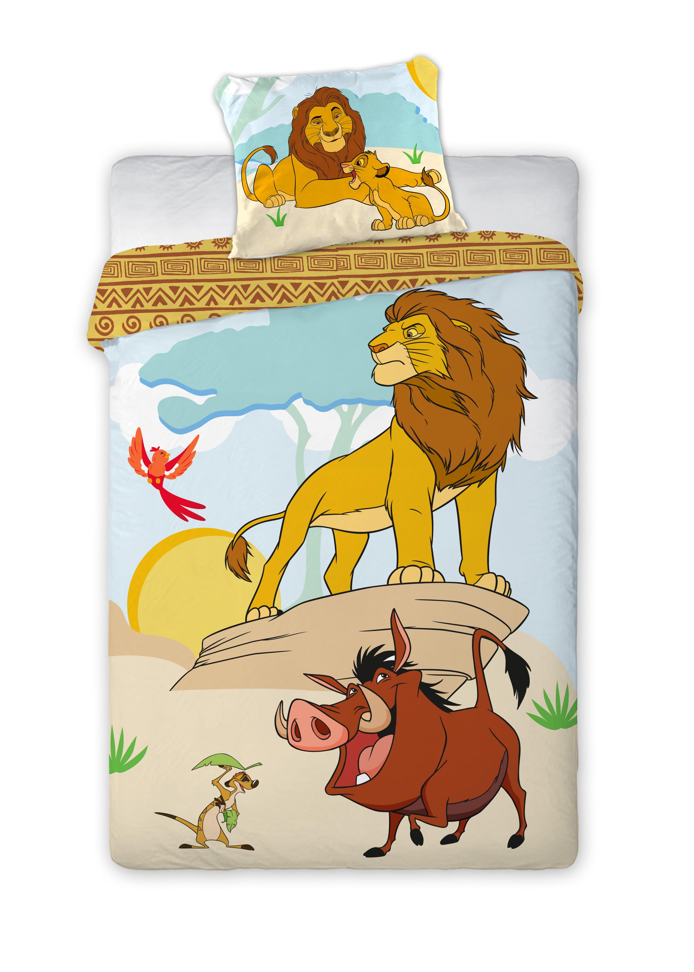 Detské obliečky Leví Kráľ 140x200 cm