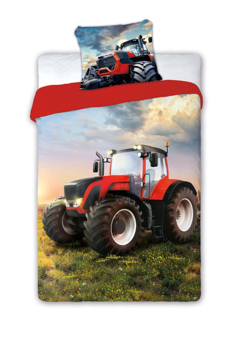 Detské obliečky Traktor 140x200 cm