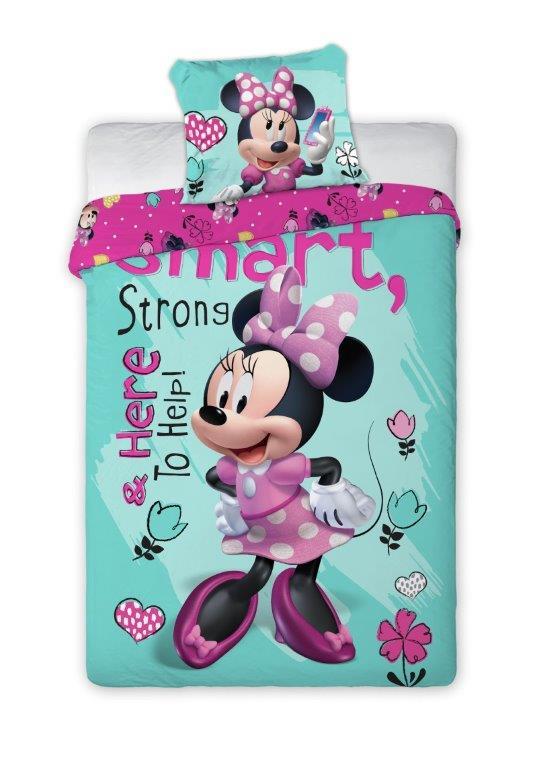 Detské obliečky Minnie Smart 140x200 cm