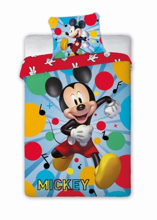 Detské obliečky Myšiak Mickey 140x200 cm