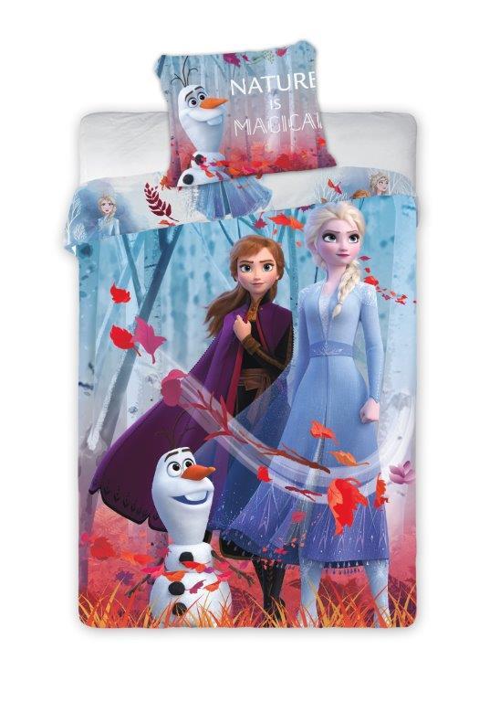 Detské obliečky Frozen - Nature is Magical 140x200 cm